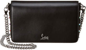 Christian Louboutin Zoompouch Leather Crossbody