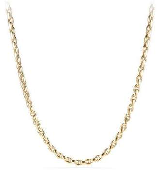 David Yurman Men's 18k Box Chain Necklace, 26""