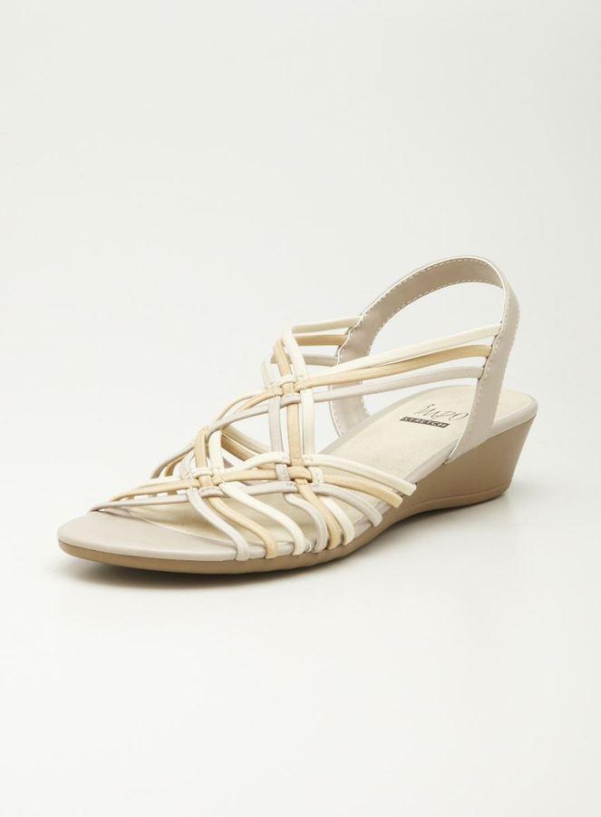 Impo Stretch Sliver Wedge Sandal