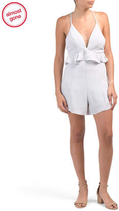 Juniors Australian Designed V Neck Romper