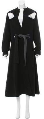 Tome Wool Longline Cardigan