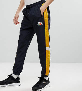 Ellesse Track Joggers With Panels In Black