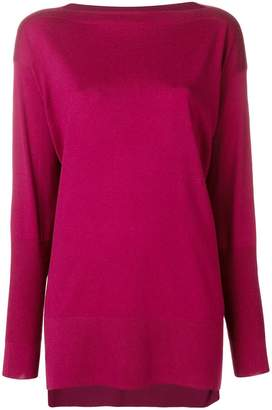 Agnona boat neck sweater