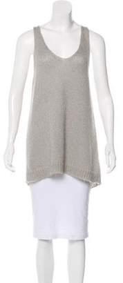 Etoile Isabel Marant Sleeveless Mohair-Blend Top