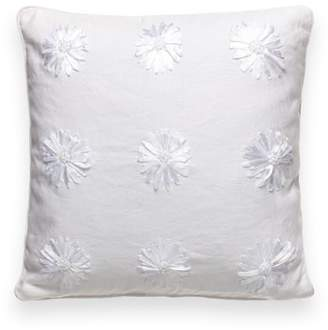Kate Spade ribbon blossom accent pillow