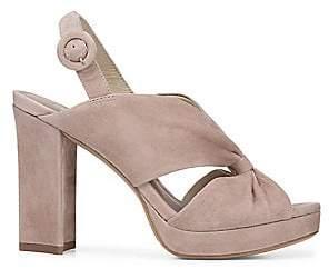 Diane von Furstenberg Women's Heidi Slingback Block Heel Sandals