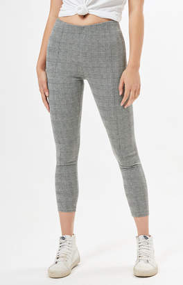 Proenza Schouler La Plaid Leggings