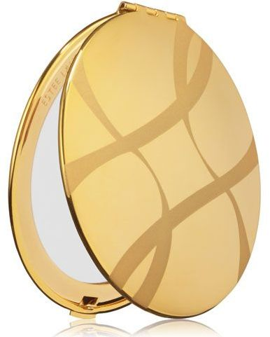 Estee Lauder Golden Ribbons Mirrored Compact for Breast Cancer Awareness