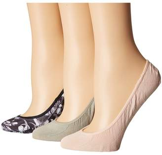 Sperry Soft Floral Printed Micro Liner Women's No Show Socks Shoes