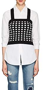 Derek Lam 10 Crosby Women's Compact Knit Crop Top-Black