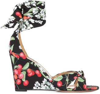All Tied Up wedge sandal