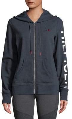 Tommy Hilfiger Logo Graphic Zip Hoodie