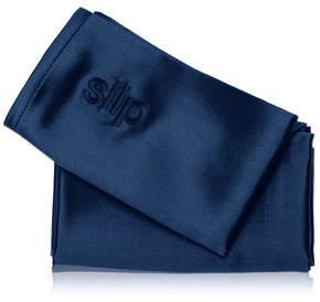 slip Queen Pure Silk Pillowcase - Navy Blue