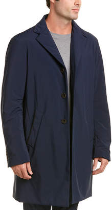 Canali Stretch Waterproof Car Coat