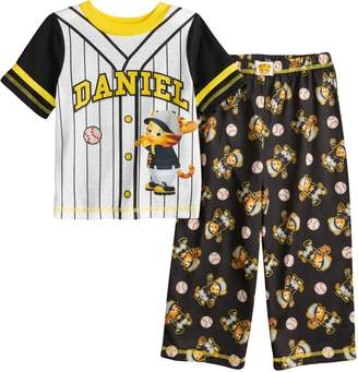 Toddler Boy Daniel Tiger Baseball Top Bottoms Pajama Set