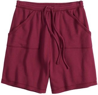 So Juniors' SO Adaptive French Terry Midi Shorts