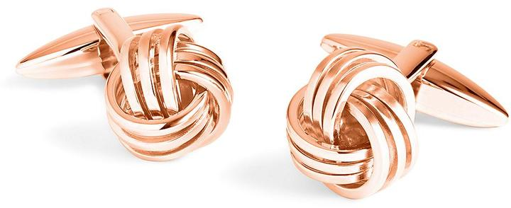 Brooks Brothers  Rose Gold Knot Cuff Links