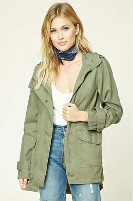 FOREVER 21+ Contemporary Utility Jacket $27.90 thestylecure.com