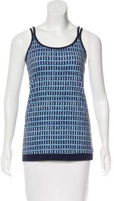 Tory Sport Printed Sleeveless Top