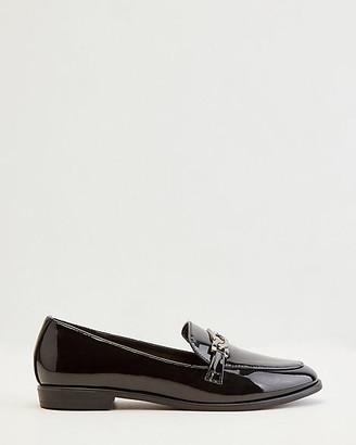 Le Château Patent Faux Leather Loafer