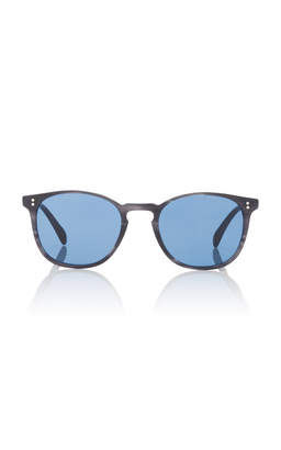 Oliver Peoples M'O Exclusive Finley Esq. Round Sunglasses