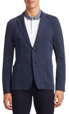 Emporio Armani Cotton Jersey Jacket