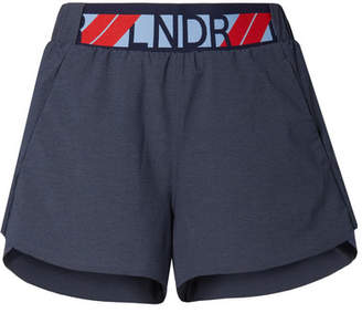 LNDR Drift Shell Shorts - Charcoal