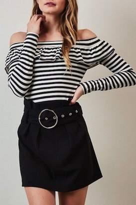 Yipsy Black Mini Skirt