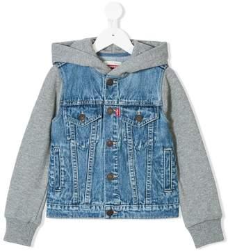 Levi's Kids layered-look denim jacket