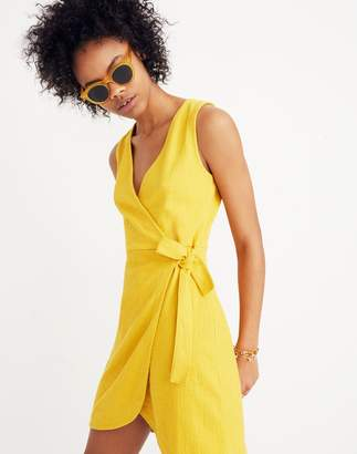 Madewell Texture & Thread Side-Tie Dress