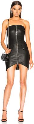 RtA Kenzie Leather Dress