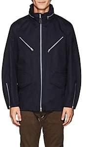 Rrl Men's Waterproof Cotton Military Jacket-Navy Size M