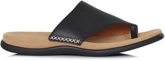 Gabor Leather Slip On Sandal