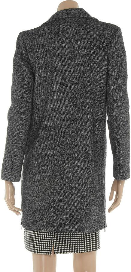 Tibi Bouclé-tweed coat
