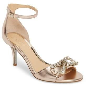 Badgley Mischka Miguela Crystal Bow Sandal (Women)