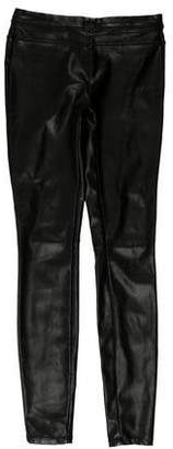 Blank NYC Low-Rise Faux Leather Leggings