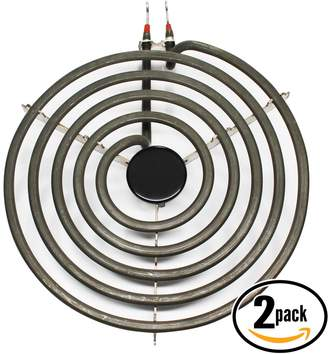 Frigidaire UpStart Components 2-Pack Replacement REG638BDL5 8 inch 5 Turns Surface Burner Element - Compatible 316442301 Heating Element for Range, Stove & Cooktop