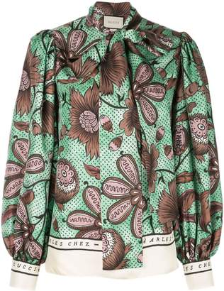 Gucci pussy-bow blouse
