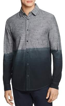 Sovereign Code Rex Printed Dip-Dyed Regular Fit Sport Shirt