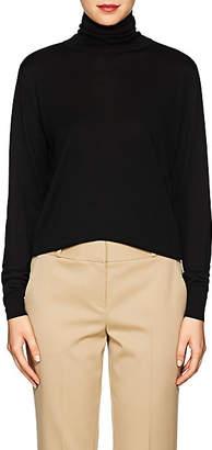 The Row Women's Donnie Silk Turtleneck Sweater - Black