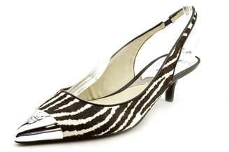 Michael Kors Paxton Sling Print Haircalf Shoes