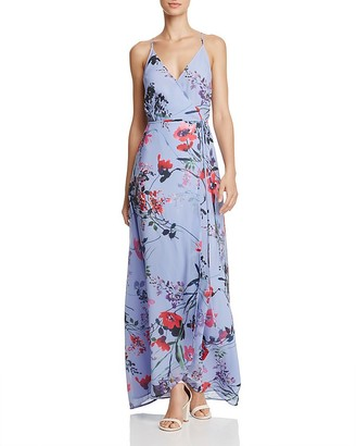 Yumi Kim Floral Wrap Maxi Dress $215 thestylecure.com