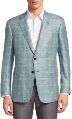 Giorgio Armani Classic Plaid Jacket