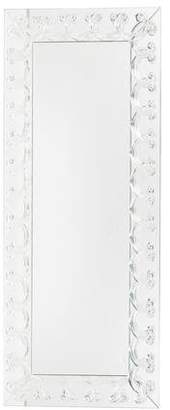 Lalique Rinceaux Crystal Full Length Mirror