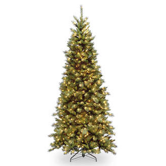 Tiffany & Co. NATIONAL TREE CO National Tree Co. 7 1/2 Foot Slim Fir Pre-Lit Christmas Tree