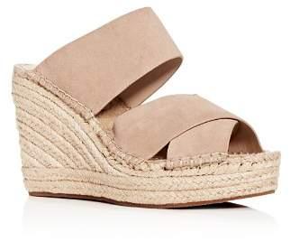Kenneth Cole Women's Olivia Espadrille Wedge Slide Sandals