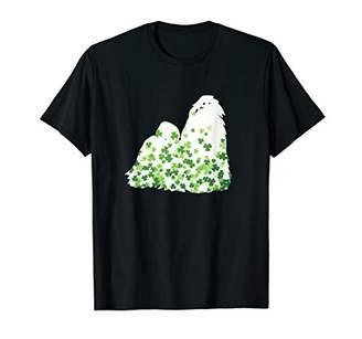 Shih Tzu St Patrick's Day Shamrock Dog T-Shirt