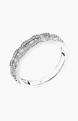 Women's Bony Levy Stackable Diamond Baguette Band Ring (Nordstrom Exclusive) $2,795 thestylecure.com