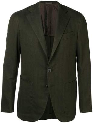 Caruso single-breasted blazer