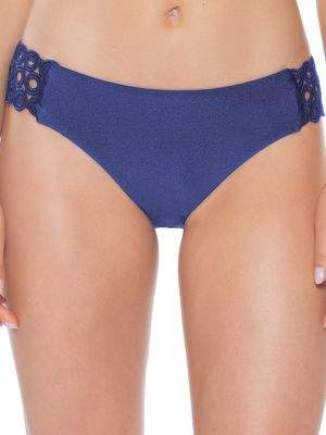 Becca by Rebecca Virtue Siren Shimmer American Fit Bikini Bottoms